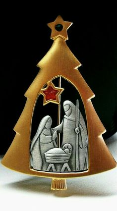 Find This Pin And More On NATIVITY THEMED Trees By L Carol Parson