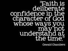 Keepin' the faith!