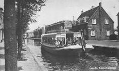 De rondvaartboot van J. Hilgers voer van de Blekersingel naar de Reeuwijkse plassen