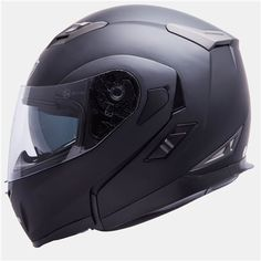 Casco MT Flux Negro Mate Modular