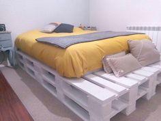 Así de fácil es montar una cama con palets