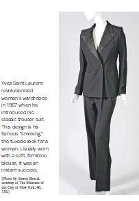 trourser suit - YSL