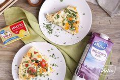 Фриттата — пошаговый рецепт приготовления с фото в домашних условиях Frittata, Eggs, Breakfast, Recipes, Food, Morning Coffee, Egg, Meals, Eten
