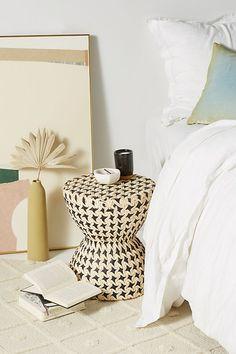 Bryce Side Table Anthropologie.com #bedroomfurniture