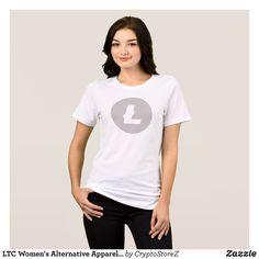 LTC Women's Alternative Apparel Crew Neck T-Shirt - Fashionable Women's Shirts By Creative Talented Graphic Designers - #shirts #fashion #design #fashiondesign #designer #fashiondesigner #style