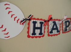 Baseball Happy Birthday Party