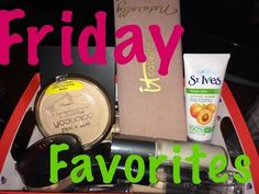 Friday Favorites | IT Cosmetics| Elf| Tarina Tarantino & More - YouTube