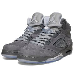 c69f95d3769796 Fancy - Nike Air Jordan V Retro - Wolf Grey