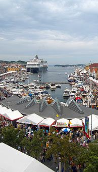 The Gladmat Food Festival in Stavanger is the largest of its kind in Scandinavia - Photo: S. Sigbjørnsen/SrN/RS/SVG2008