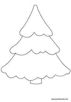 Sagome alberi per lavoretti in sagome lavoretti Felt Christmas Decorations, Felt Christmas Ornaments, Christmas Colors, Christmas Art, Christmas Projects, Simple Christmas, Felt Patterns, Applique Patterns, Craft Patterns