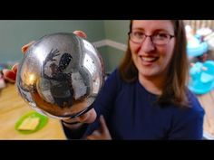 Mirror polishing aluminum foil ball (attempt #2) - Japanese foil ball polishing challenge - YouTube