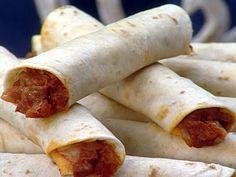 Chorizo Taquitos Recipe : Sandra Lee : Food Network - FoodNetwork.com