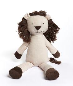 Levi The Lion designer soft toy - NanaHuchy