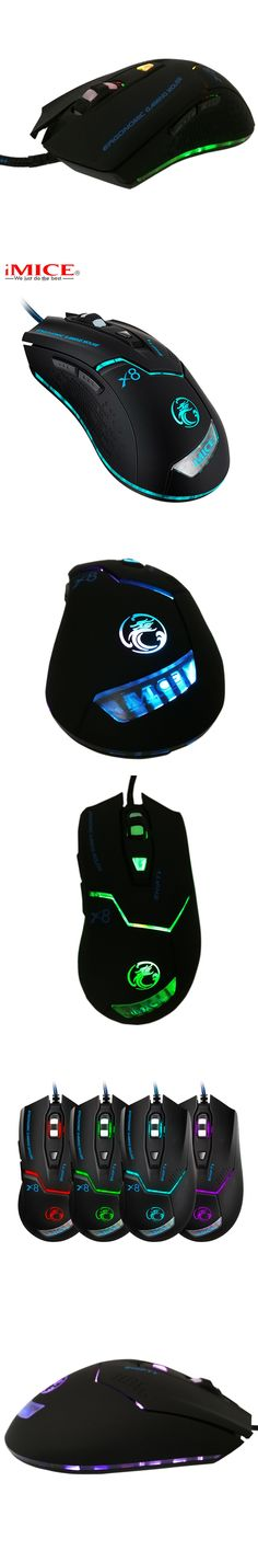 Ergonomics 3200DPI Wired Gaming Mouse LED Optical USB Computer Mouse Gamer Mice for PC Laptop Computer for CSGO LOL Game