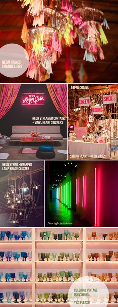 Hey Look - Event styling, design inspiration, DIY ideas and more: Search results for neon