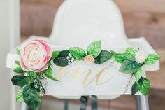 Floral Korean Dol first birthday | Wedding & Party Ideas | 100 Layer Cake