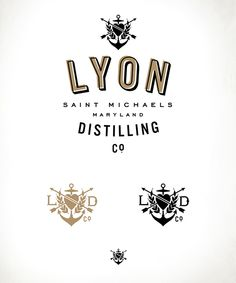 * Lyon Distilling Co. : Distiller// on Packaging Design Served