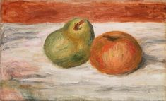 """Specifications of the article Are you fine art enthusiast? Are the originals too expensive? The painting from the French painter Pierre-Auguste Renoir from the year 1909 """"Apple and Pear (pear and apple)"""" belongs to our digital art catalogue.   The product          Print categorization: fine art print   Method of reproduction: digital reproduction   Production technique: UV direct printing   Origin of the product: Germany   Stock type: on demand production   Intended product usage: gallery wall, Oil Canvas, Canvas Paper, Canvas Prints, Pierre Auguste Renoir, Barnes Foundation, August Renoir, A4 Poster, Poster Prints, Paul Cezanne"""