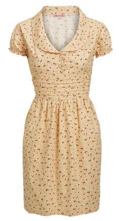 Tea Dress Peach Strawberry