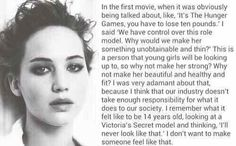 Thank you, Jennifer Lawrence. Another reason to love Jennifer Lawrence! A true idol! J Law, Johny Depp, Jc Caylen, Look At You, Body Image, Beautiful Words, Beautiful People, Hunger Games, Good People