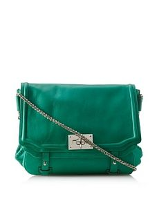 Be Women's Foundery Dual Chain Strap Shoulder (Teal/Nickel)