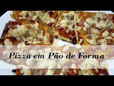 Como fazer Pizza com Pão de Forma - YouTube