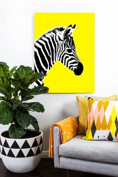 A strikingly vibrant piece of art, titled Glowing Zebra.Available with the Zebra… Art Painting, Zebra Painting, Canvas, Amazing Art Painting, Art, Painting Art Projects, Animal Paintings, Canvas Art, Canvas Painting
