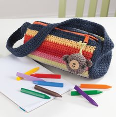 """New Cheap Bags. The location where building and construction meets style, beaded crochet is the act of using beads to decorate crocheted products. """"Crochet"""" is derived fro Crochet Pencil Case, Crochet Phone Cases, Crochet Pouch, Crochet Keychain, Crochet Shell Stitch, Bead Crochet, Crochet Crafts, Crochet Hooks, Crochet Handbags"""