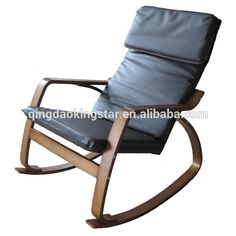 bentwood rocker swivel recliner chair