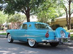 1956 Ford Thunderbird for sale - Hemmings Motor News Vintage Sports Cars, Vintage Cars, Antique Cars, Car Ford, Ford Trucks, Ford Classic Cars, Ford Fairlane, Ford Thunderbird, Amazing Cars