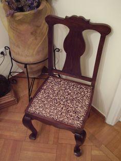 Mosaic Design on Chair