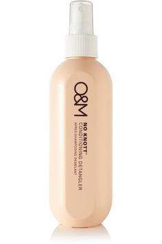 With a nourishing blend of cold-pressed Argan Oil and Macadamia Nut Oil, Original & Mineral's luxurious 'Know Knott' spray detangles and rec...