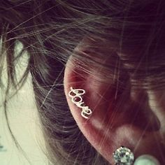 cartilage 'love' stud. WANT! :)