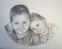 drawing of children - Simonko and Sofijka