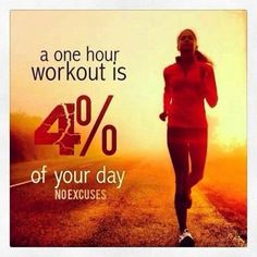 4 percent of your day no excuses