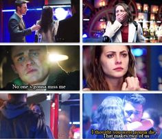 "Roy: ""No ones gonna miss me."" Thea: ""I thought you were gonna die."" Roy: ""That makes two of us."""