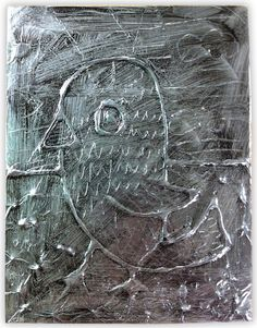 Glue and Foil Art