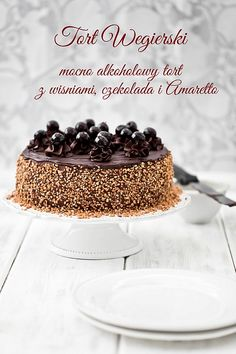 Hungarian Cake for adults. Do not ask why Hungarian, because the origin of the name is not known to me ; Hard liquor, on ch Hungarian Cookies, Hungarian Cake, Cupcakes, Cupcake Cakes, Baby Cakes, Slovakian Food, Sweet Recipes, Cake Recipes, Amaretto Cake