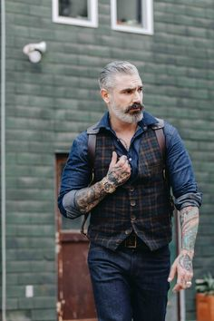 Another great shot sporting another @originalgrain watch! These watches are badass. Photo credit: Jose Coli #fashion #accessories #model #malemodel #beard #ink #tattoo #badass #watches #menswear #mensfashion https://www.originalgrain.com/