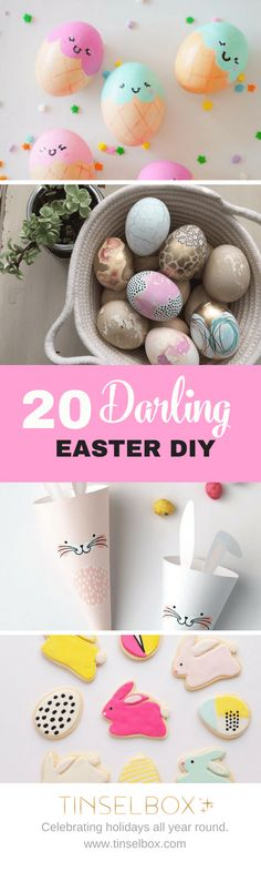 20 Darling Easter DIY – Best of Pinterest