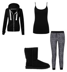 """""""Untitled #190"""" by weirdobutfun on Polyvore featuring M&Co, Splendid and UGG Australia"""