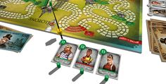 Pélotone - cycling board game for champions of all ages (start)