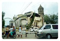Ruin of the Quake Dais church
