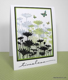 UPSY DAISY set from SU * djkardkreations: Clean & Simple Card Making Days 7 and 9 ~ Washi Paper and Oopsie Poopsie Stampin Up Karten, Stampin Up Cards, Butterfly Cards, Flower Cards, Card Making Techniques, Sympathy Cards, Paper Cards, Cool Cards, Creative Cards