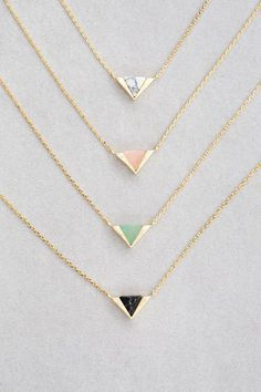 Bridesmaids gift idea - matching unique necklaces for bridesmaids {Courtesy of Lovoda}