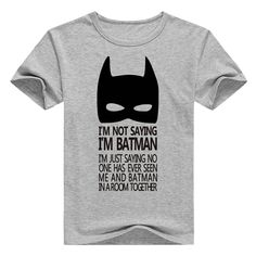 casual men t-shirt Top Tees T-shirts clothing cartoon The Batman sign geek gray T shirt summer cotton drake raglan brand