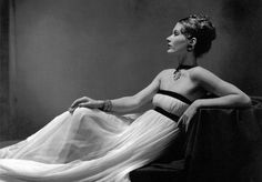 """Madeleine Vionnet gown. Vionnet's designs were, """"not for fashion,"""" she explained. """"I only like that which lasts forever."""""""