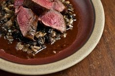 Grilled Venison Loin with Horseradish Cream Sauce | Recipe ...