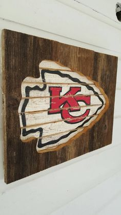 Kansas City Chiefs wall art by KristaLianeDesigns on Etsy | Sports DYI decor | Pinterest | Kansas and City & Kansas City Chiefs wall art by KristaLianeDesigns on Etsy | Sports ...