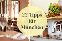 In Strömen pilgern die Touristen jeden Frühherbst in Bayerns Hauptstadt, denn da ist Wiesn-Zeit. Aber auch außerhalb der Theresienwiese hat München einiges zu bieten – unsere liebsten Nebenbeschäftigen